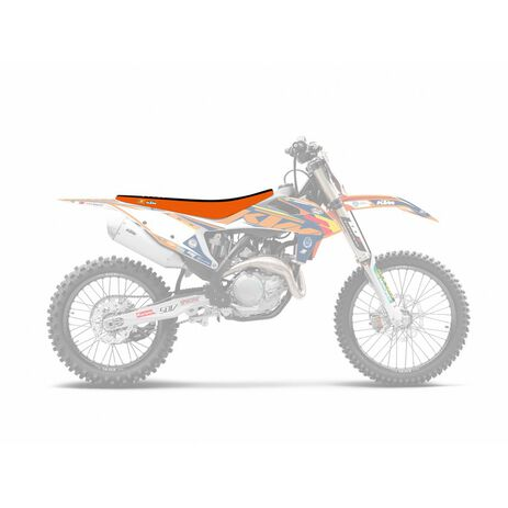 _Copertina Sella Blackbird Double Grip 3 KTM EXC 2020 SX/SXF 19-.. | 1528H | Greenland MX_
