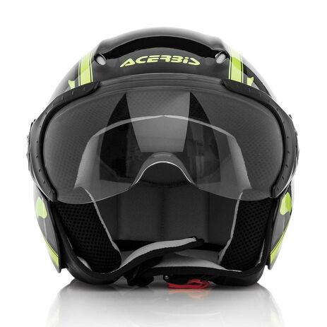 _Casco Acerbis X-Jet On Bike Nero/Giallo   0021662.318.00P   Greenland MX_