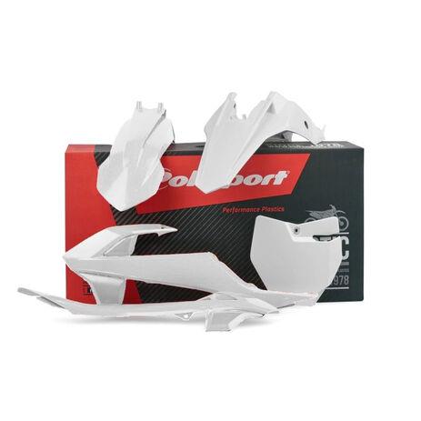 _Kit Plastiche Polisport KTM SX 65 16-18 Bianco | 90685 | Greenland MX_
