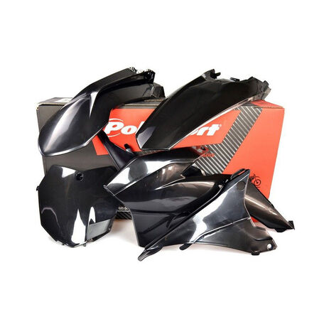 _Kit Plastiche Polisport KTM EXC/ EXC-F 14-16 Nero | 90646 | Greenland MX_