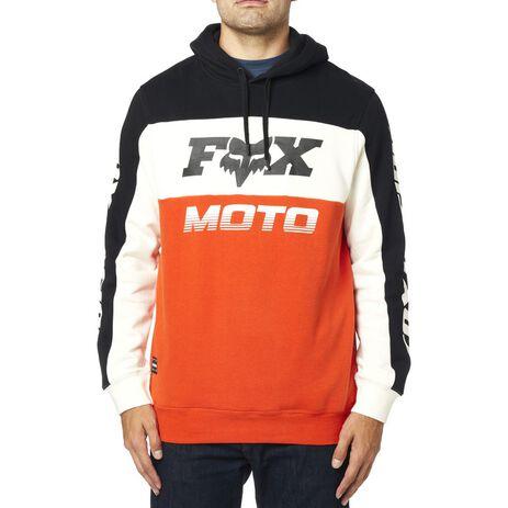 _Felpa Fox Charger Nero/Arancione | 24093-016 | Greenland MX_
