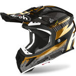 _Casco Airoh Aviator 2.3 Novak Chrome | AV23N90 | Greenland MX_