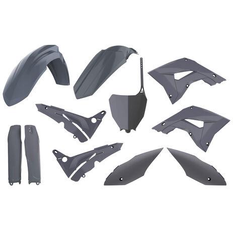 _Kit Plastiche Polisport MX Restyling Honda CR 125/250 R 02-07 Grigio | 90875-P | Greenland MX_