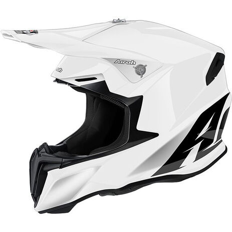 _Casco Airoh Twist Bianco Gloss | TW14 | Greenland MX_
