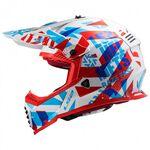 _Casco Bambini LS2 Fast Mini EVO MX437 Funky   40437J3302-P   Greenland MX_