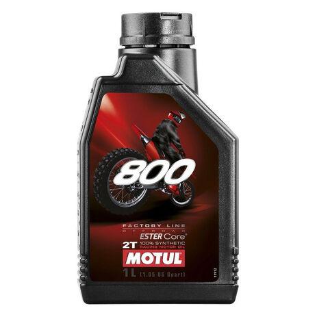 _Olio Motore Motul  800 FL OFF ROAD 2T 1L | MT-104038 | Greenland MX_