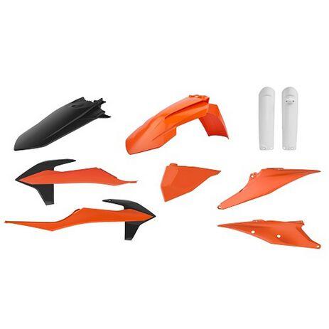 _Full Kit Plastiche Polisport KTM EXC/EXC-F 20 | 91015-P | Greenland MX_
