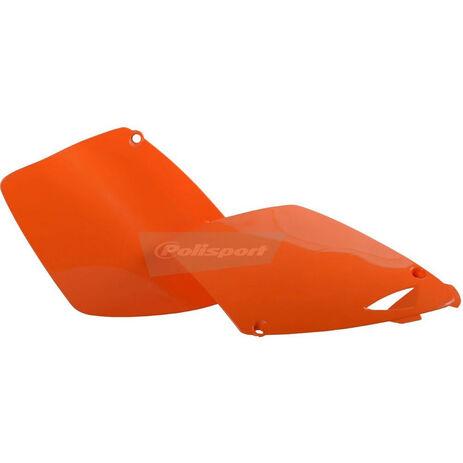 _Kit Fianchetti Laterali Polisport KTM SX 125/ EXC 125/200/250/300 98-03 SX 250 98-02 Arancione   8600300003   Greenland MX_