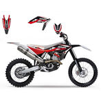 _Kit Adesivi Blackbird Husqvarna TC/TE 449-511 11-13 Dream Rosso | 2610E | Greenland MX_