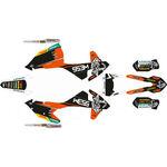 _Kit Completo Adesivi KTM EXC/EXC-F 17-19 WESS | SK-KTEXC1719WSORBK-P | Greenland MX_