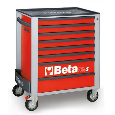 _Cassettiera Mobile con 8 Cassetti Beta Tools | C24S-8-R-P | Greenland MX_