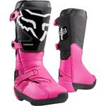 _Stivali Donna Fox Comp Nero/Rosa | 24013-285 | Greenland MX_