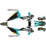 _Kit Completo Adesivi KTM EXC/EXC-F 20 WESS | SK-KTEXC20WSTU-P | Greenland MX_