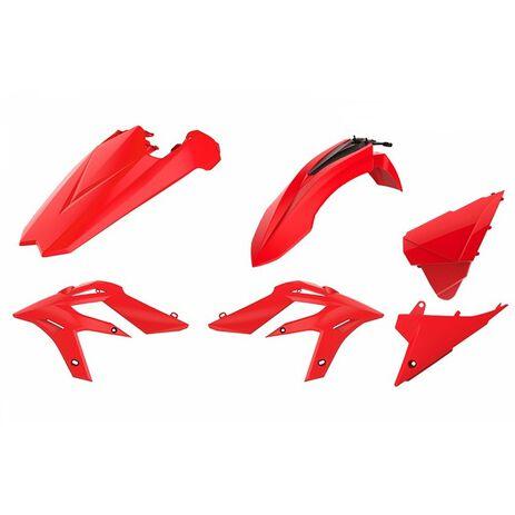 _Kit Plastiche Polisport Beta X-Trainer 15-19 Rouge | 90787-P | Greenland MX_
