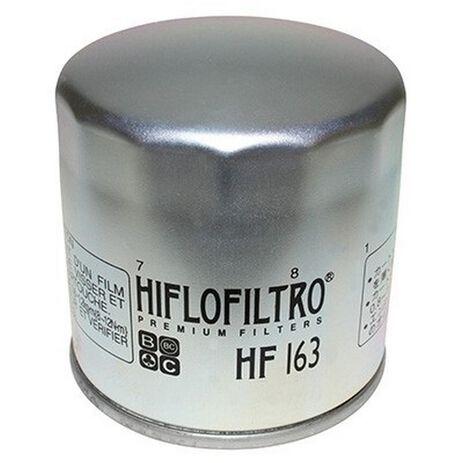 _Filtro Olio Hiflofiltro BMW R1150 GS 99-05 Zinco | HF163 | Greenland MX_