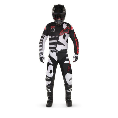 _Maglia Bambino Alpinestars Racer Braap 2018 Nero/Bianco | 3771418-123-P | Greenland MX_
