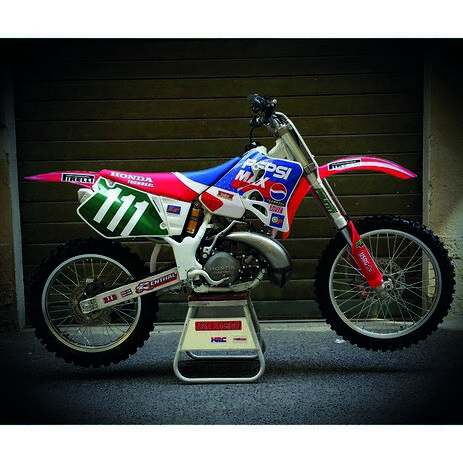 _Kit Adesivi Tecnosel Replica Team Honda Pepsi 1994 CR 125 93-94 CR 250 92-94 | 21V06 | Greenland MX_