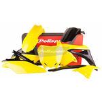 _Kit Plastiche Polisport Suzuki RMZ 250 10-18 OEM 14-16   90626   Greenland MX_