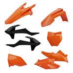 _Kit Plastiche Polisport KTM EXC/EXC-F 17-18 Arancione | 90707 | Greenland MX_