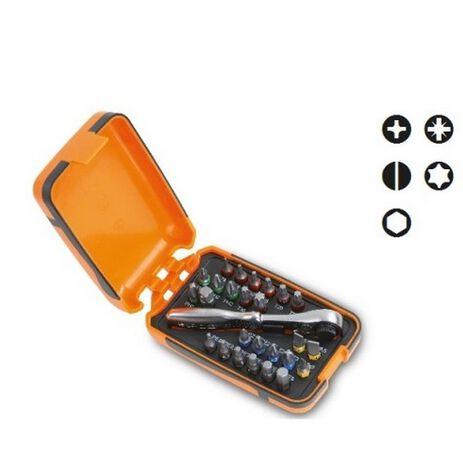 _25 inserti per Avvitatori +1 Raccordo + 1 Cricchetto Reversibile Beta Tools | 860-C27 | Greenland MX_