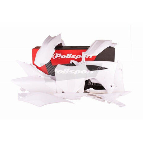 _Kit Plastiche Polisport Honda CRF 250 R 14-17 CRF 450 R 13-16 Bianco | 90561 | Greenland MX_