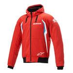 _Felpa con Cappuccio Alpinestars Honda Chrome V2 Sport Rosso/Blu | 4200821-3017 | Greenland MX_