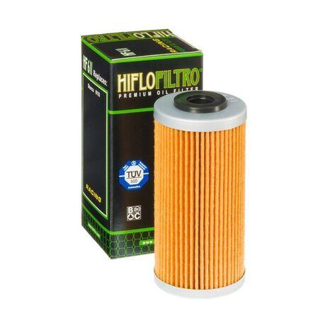 _Filtro Olio Hiflofiltro Sherco SE 250 i 08-.. BMW G 450 X 09-12 | HF611 | Greenland MX_