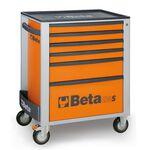 _Cassettiera Mobile con 6 Cassetti Beta Tools   C24S-6-O-P   Greenland MX_