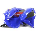 _Kit Plastiche Polisport Yamaha YZ 250 F 14-18 YZ 450 F 14-17 | 90671 | Greenland MX_