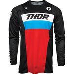 _Maglia Thor Pulse Racer Nero/Rosso/Blu | 2910-617NRA-P | Greenland MX_