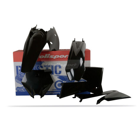 _Kit Plastiche Polisport KTM SX 05-06 EXC/EXC-F 05-07 Nero | 90195 | Greenland MX_