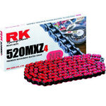 _Catena RK 520 MXZ4 Super Rinforzata 120 Passi Rosso | TC-RKMXZ4RD | Greenland MX_