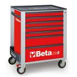 _Cassettiera Mobile con 7 Cassetti Beta Tools   C24S-7-R-P   Greenland MX_
