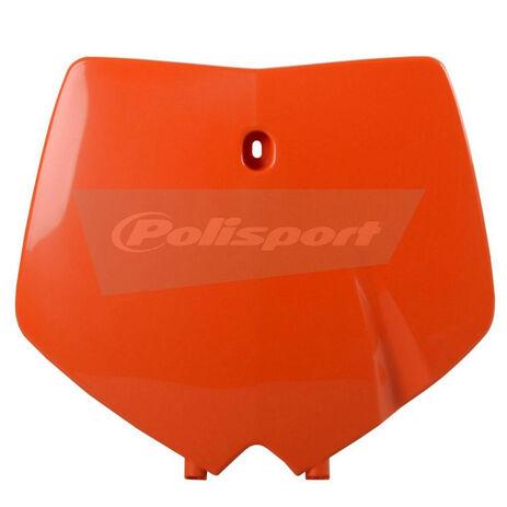 _Piastra Frontale Polisport KTM SX 99-02 Arancione   8660300001   Greenland MX_