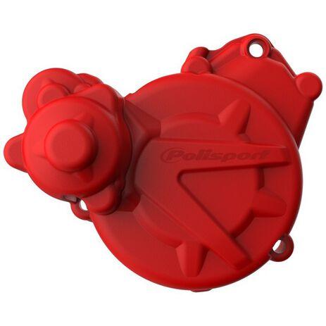 _Protezione Coperchio Avviamento Polisport Gas Gas EC 250/300 15-20 Rosso | 84676000022 | Greenland MX_