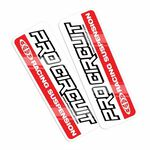 _Adesivi Forcella Pro Circuit Standard | DCFD-RED | Greenland MX_