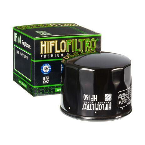 _Filtro Olio Hiflofiltro BMW F800 GS 07-18 R1200 R/RS LC 14-18 | HF160 | Greenland MX_