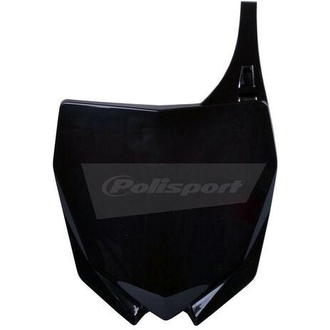 _Piastra Frontale Polisport Yamaha YZ 250 F 10-18 YZ 450 F 10-17 Nero | 8678400002 | Greenland MX_