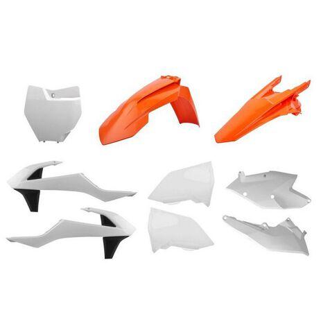 _Kit Plastiche Polisport KTM SX 125/144/250 SX-F 16-18 SX 250 17-19 OEM | 90706-P | Greenland MX_