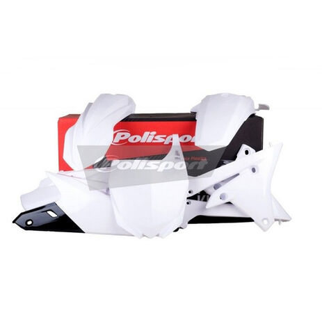 _Kit Plastiche Polisport Yamaha YZ 250/450 F 14-16 Bianco | 90582 | Greenland MX_