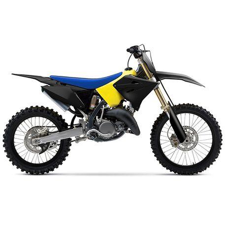 _Kit Plastiche Polisport Restyling Suzuki RM 125/250 01-08 Nero   90865-P   Greenland MX_