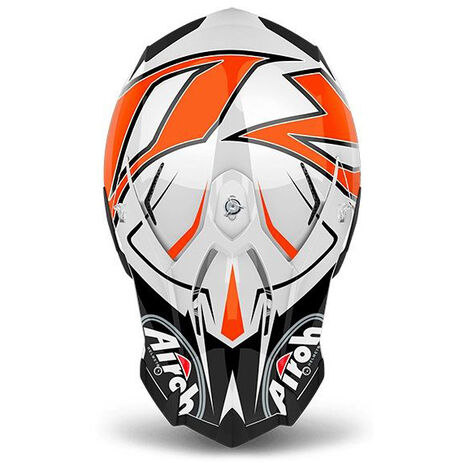 _Casco Airoh Terminator Open Vision Shock Orange Gloss 2018   TOVSH32   Greenland MX_