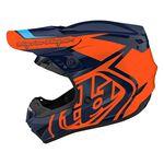 _Casco Troy Lee Designs GP Overload Blu Navy/Arancione | 103252011-P | Greenland MX_
