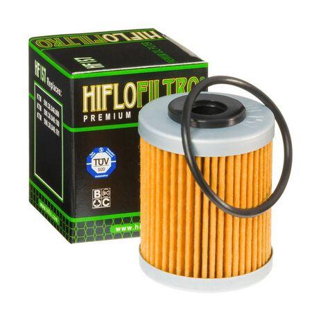 _Filtro Olio Hiflofiltro KTM SX-F/EXC-F 400/450/525 99-06 2º KTM 690 Enduro 08-11 2º Beta RR 4T 05-19 2º | HF157 | Greenland MX_