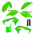 _Kit In Plastica Acerbis Kawasaki KX 450 F 16-17 Verde Fluor | 0021843.131-P | Greenland MX_