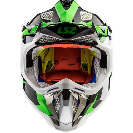 _Casco LS2 MX470 Subverter Nimble Nero/Verde | 404702060P | Greenland MX_