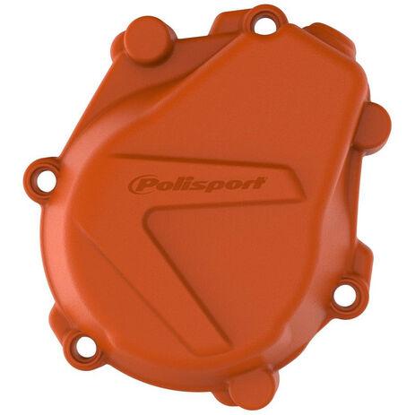 _Protezione Coperchio Avviamento Husqvarna KTM SX-F 450 16-18 Husqvarna FC 450/FS 450 16-18 Arancione | 8463900002 | Greenland MX_