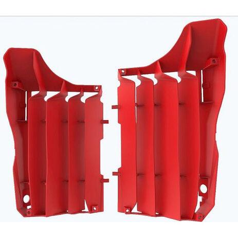 _Kit Griglie Radiatore Polisport Honda CRF 250 R 18-19 Rosso   8464200002   Greenland MX_