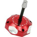 _Tappo Serbatoio Zeta Alluminio Honda CRF 250 R 04-17 CRF 450 R 02-16 Rosso | ZE87-0603 | Greenland MX_