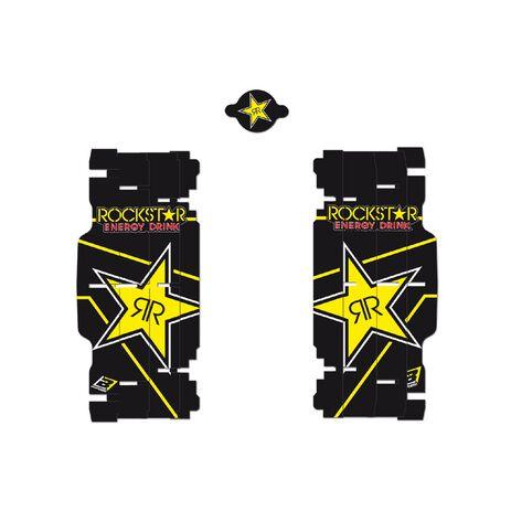 _Adesivi Per Feritoie Radiatore Replica Rockstar Energy KTM SX/SXF 08-15 /EXC 08-16 | A501L | Greenland MX_